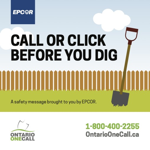 Epcor : Call Before You Dig - OntarioOneCall.ca