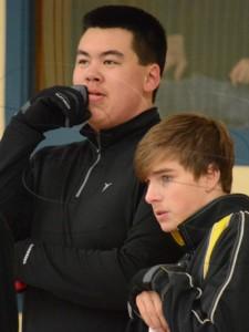 Boys curling