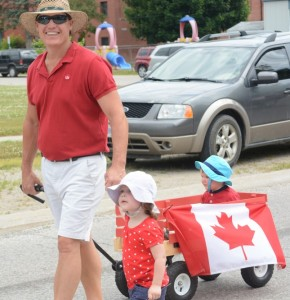 Canada Day in Port Burwell