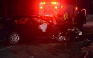 Talbot St. W. crash