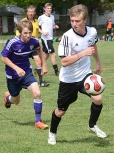 Boys soccer semi