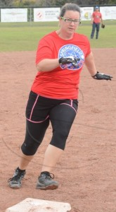 Coed softball
